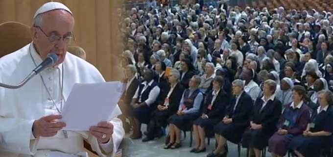 Papst Franziskus an die Generaloberinnen